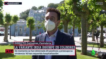 El alcalde de Colindres, en Cantabria