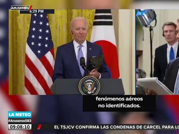La sorprendente respuesta de Joe Biden cuando le preguntan por la existencia de ovnis