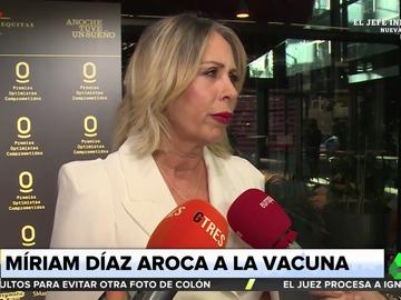 """Polémicas declaraciones de Miriam Díaz-Aroca sobre el suero contra el coronavirus: """"La verdadera vacuna es un abrazo"""""""