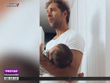 Rosanna Zanetti muestra la técnica de David Bisbal para dormir a su hija Bianca