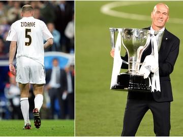Zidane y el Real Madrid, una historia de hasta luegos