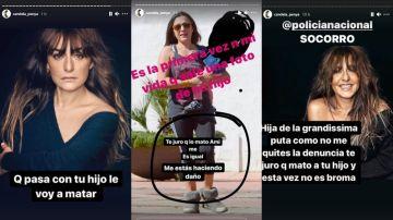 """Candela Peña denuncia las amenazas a su hijo de 9 años: """"Te juro que mato a tu hijo, y esta vez no es broma"""""""