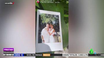 Las imágenes de la boda del hijo de Simeone, Giovanni, con Giulia Coppini en Ibiza