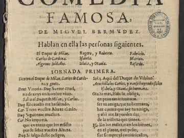 Encuentran en la Biblioteca Nacional una obra desconocida de Lope de Vega