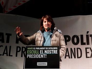 La presidenta de la ANC, Elisenda Paluzie