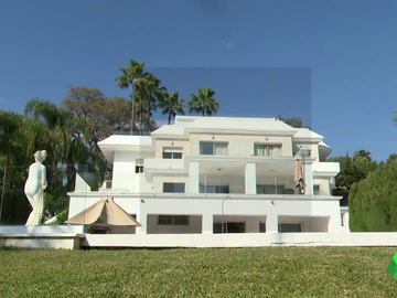 Imagen de una mansión de Marbella
