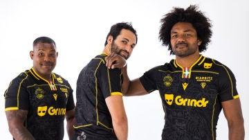 Varios jugadores del Biarritz Olympique Pays Basque