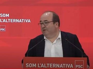 El ministro de Política Territorial del Gobierno y primer secretario del PSC, Miquel Iceta