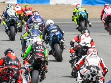 Motos en la pista de Jerez