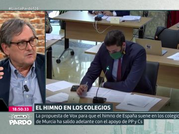 """Marhuenda: """"¿Por qué a la izquierda la bandera de España le produce sarpullido? Es de todos"""""""