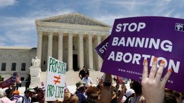 Manifestación por el aborto en Washington