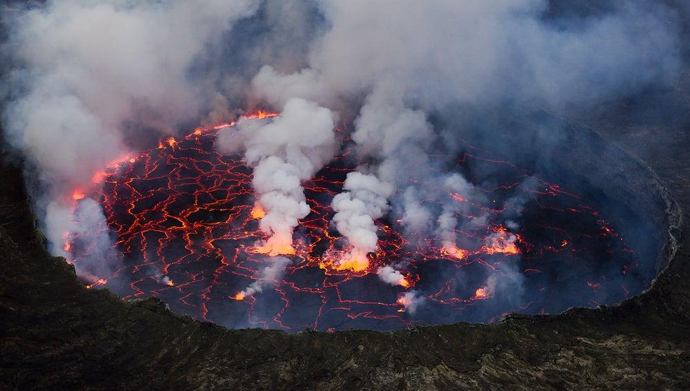 Cráter del Nyiragongo