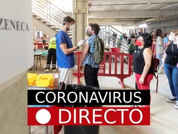 Última hora: vacunación en España con la segunda dosis de AstraZeneca o Pfizer por coronavirus, hoy