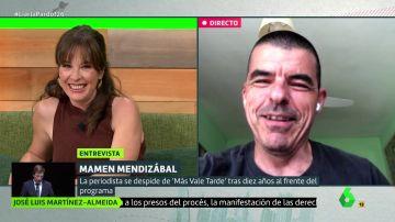 Mamen Mendizábal y Manu Marlasca