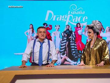 """El cumplido de Wyoming a Supremme de Luxe, presentadora de 'Drag Race España': """"Esto es una queen y no la Sofía"""""""