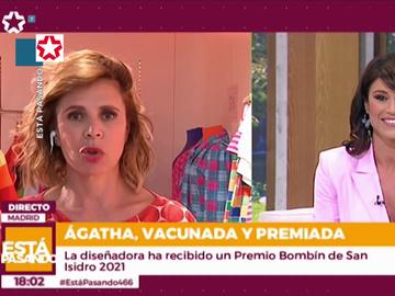 """La surrealista entrevista a Ágatha Ruiz de la Prada llena de errores y zascas que demuestra que """"tenía el día torcido"""""""