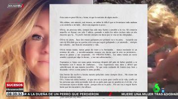 """Nueva carta de la madre de las niñas de Tenerife: """"No saben lo difícil que es levantarse cada mañana y no tenerlas a mi lado"""""""