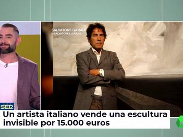 Una artista italiano logra vender una escultura invisible por 15.000 euros