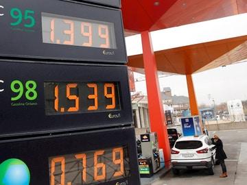 Imagen de recurso de una gasolinera