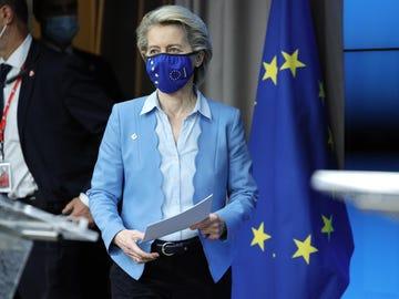 Ursula von der Leyen pide que se relajen las medidas