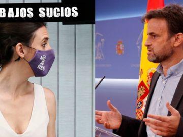 Irene Montero y Jaume Asens, de Unidas Podemos