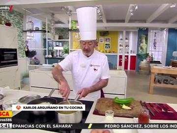 """Karlos Arguiñano defiende a Fernando Simón: """"Ha dado la cara en todo momento"""""""