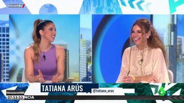 El 'rifirrafe' entre Tatiana Arús y Angie Cárdenas tras ver un vídeo de Aruser@s