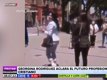 Georgina Rodríguez confirma el equipo en el que jugará Cristiano Ronaldo la próxima temporada