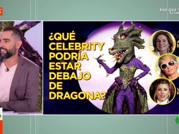 ¿Quién se oculta bajo la máscara de Dragona en Mask Singer? Estas son las apuestas de los zapeadores