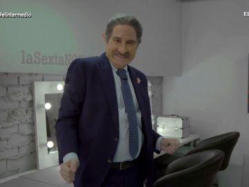 """Joaquín Reyes imita a Revilla, """"el cuñado de todos los españoles y hombre todopoderoso de Cantabria"""", al ritmo de Bustamante"""