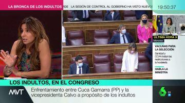 """El enfado de Carmen Morodo con los políticos tras la sesión de control: """"Están para ver quién la tiene más larga"""""""