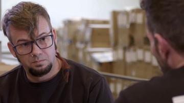 La historia personal de un trabajador de 'Spagnolo' emociona al jefe infiltrado
