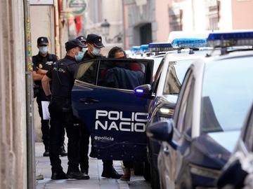 Diego El Cigala, en el momento de su detención