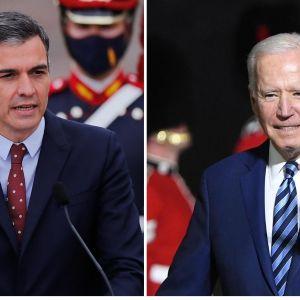 Pedro Sánchez y Joe Biden, posible reunión el lunes en Bruselas