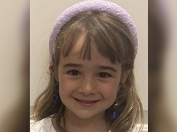 Olivia, la hermana mayor de las niñas desaparecidas en Tenerife