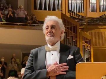 Ovación para Plácido Domingo en su vuelta a los escenarios españoles tras el escándalo de acoso sexual