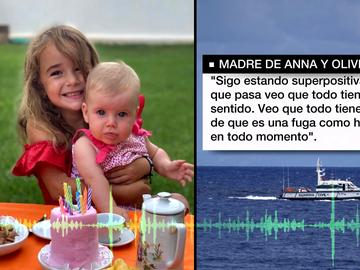 Audio de la madre de Anna y Olivia