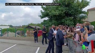 juicio agresion Macron