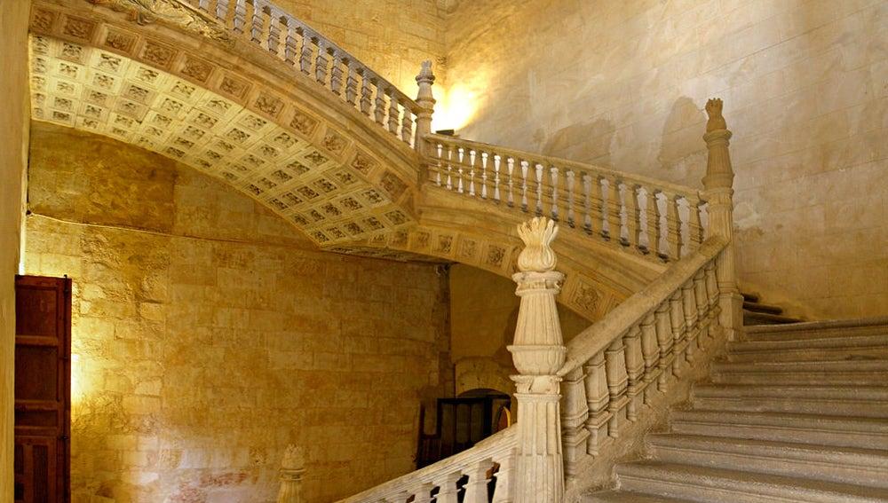 Convento de San Esteban. Escalera de Soto