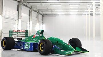 Jordan 191, monoplaza con el que debutó Schumacher en la F1