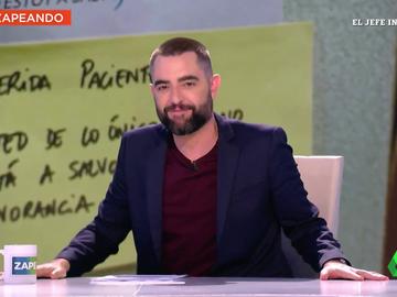 """Dani Mateo revela lo que hacía con la basura un """"muy famoso presentador de televisión"""": """"¡Qué puerco!"""""""