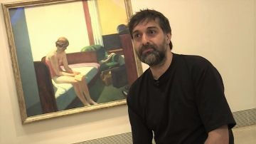 Carlos Langa, autor de 'La vida es un cuadro de Hopper'