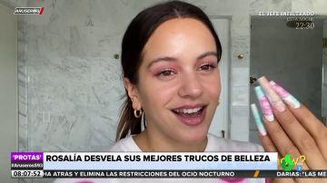 Rosalía revela un truco de belleza del que no había hablado hasta ahora