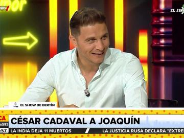 El vacile de César Cadaval (Los Morancos) a Joaquín Sánchez por el penalti que falló en la Copa del Rey