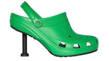 Nueva creación de Crocs y Balenciaga
