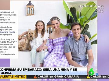 Soraya Arnelas anuncia que está embarazada de una niña que se llamará Olivia