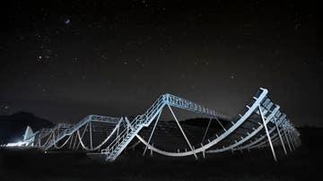 El radiotelescopio CHIME