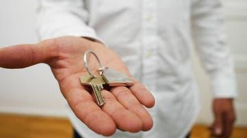 Imagen de archivo de la llave de una vivienda