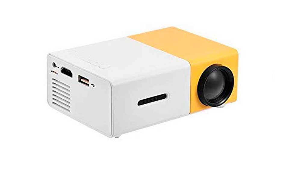 Mini proyector portátil de interior y exterior