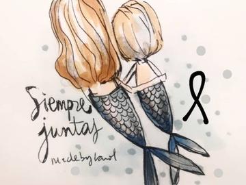 Las redes sociales se llenan de sirenas y velas blancas en homenaje a Anna y Olivia